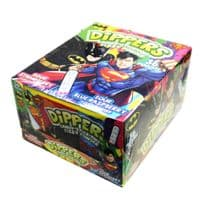 DIPPERS CANDY STICK & FIZZY POWDER x36